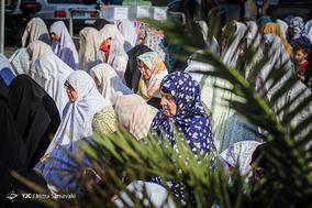 اقامه نماز عید فطر در سعادت آباد