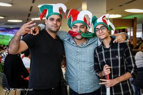 تماشای دیدار تیمهای فوتبال ایران و مراکش در پردیس چارسو