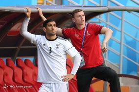 آخرین تمرین تیم ملی فوتبال ایران پیش از دیدار با پرتغال