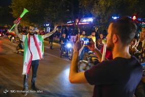 حمایت مردم اصفهان و مشهد از تیم ملی فوتبال ایران