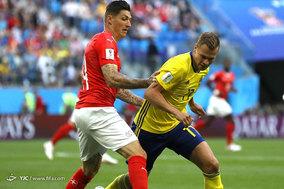 جام جهانی 2018 روسیه/دیدار تیمهای فوتبال سوئد و سوئیس