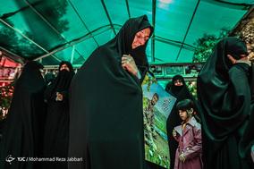 تشییع پیکر شهید مدافع حرم «ابراهیم رشید» - قم