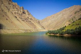 افزایش سطح آب در سد کرج