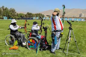 مسابقات مرحله دوم رنکینگ کشوری تیراندازی با کمان کامپوند