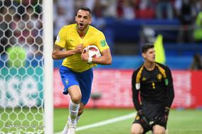 جام جهانی 2018 روسیه/دیدار تیمهای فوتبال برزیل و بلژیک