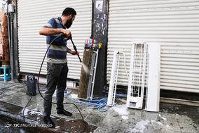 گرمای بی سابقه هوا در اهواز