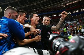 جام جهانی 2018 روسیه/دیدار تیمهای فوتبال انگلیس و کرواسی