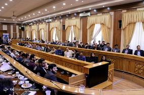 دیدار وزیر ارتباطات با نخبگان استان فارس