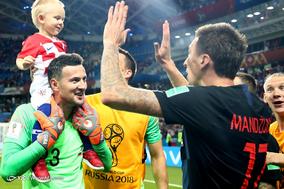 جام جهانی 2018 روسیه/دیدار تیمهای فوتبال  کرواسی و روسیه