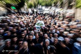 مراسم تشییع و تدفین شهید محمد عزیزی