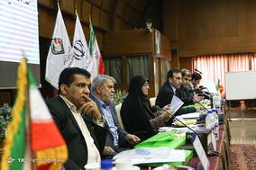 اعضای هیات رییسه برگزاری مجمع سالیانه کبدی