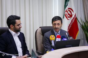 امضای تفاهم نامه میان وزیر ارتباطات و فناوری اطلاعات و رییس کمیته امداد امام خمینی (ره)