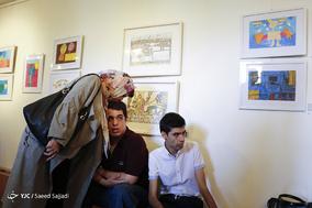 اولین نمایشگاه گروهی نقاشی توانخواهان ذهنی