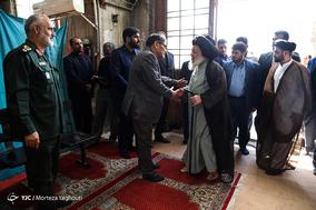 مراسم تشییع پیکر هادی شمخانی - اهواز