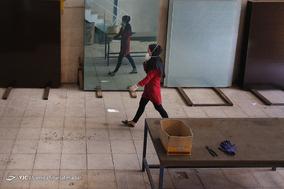 کارگاه تولید شیشه