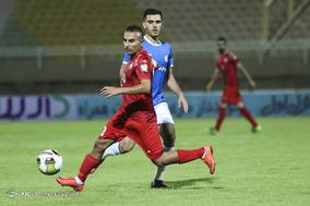 دیدار تیم های استقلال خوزستان و سپیدرود رشت