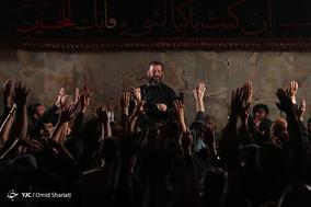 مراسم عزاداری شب سوم محرم در هیات عشاق الحسین(ع)