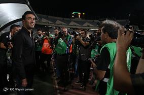 دیدار تیم های پرسپولیس و نساجی مازندران