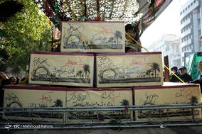مراسم تشییع پیکر 135 شهید گمنام دوران دفاع مقدس - 2