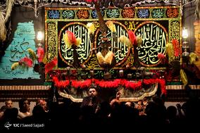 عزاداری شب پنجم محرم در حسینیه گودال قتلگاه