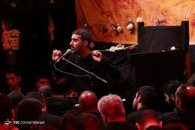 مراسم عزاداري شب ششم محرم در هيئت ثارالله مسجد المهدی (ع)