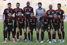 دیدار تیمهای فوتبال فولاد خوزستان و مس شهر بابک