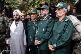 مراسم تشییع پیکرشهید مدافع حرم اصغر الیاسی