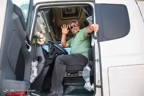مراسم تحویل خودروهای سنگین طرح نوسازی ناوگان حمل و نقل