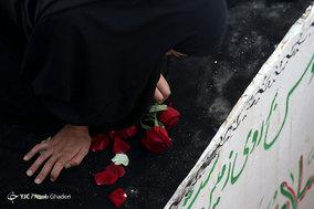 مراسم تدفین طلبه شهید مدافع حرم فرهاد طالبی - لامرد