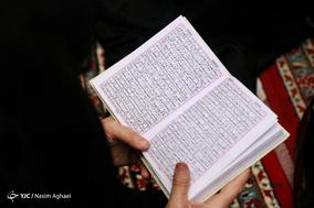 تجمع بزرگ رهروان زینبی در امام زاده صالح(ع) تجریش