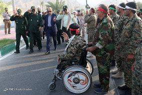 مراسم مشترک رژه نیروهای مسلح - لامرد