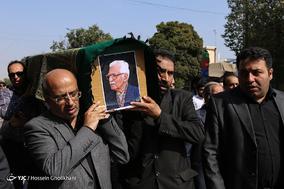 مراسم تشییع پیکر سید محمد دبیرسیاقی