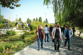 پیام صلح و مهربانی از یزد به اصفهان