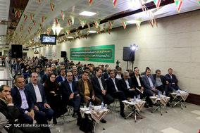 افتتاح دو ایستگاه قطار شهری و رونمایی از 185 دستگاه اتوبوس درون شهری_شیراز