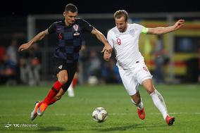 لیگ ملتهای اروپا - دیدار تیمهای فوتبال کرواسی و انگلیس