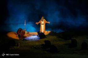 اجرای نمایش تنهاتر از مسیح