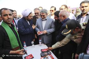 بازدید وزیر کشور از پایانه مرزی چذابه