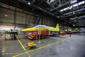 افتتاح خط تولید اولین جت جنگنده تمام ایرانی «کوثر»