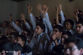 پخش بازی پرسپولیس و کاشیما آنتلرز در دبیرستان البرز