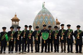 تعویض پرچم حرم سید علاء الدین حسین(ع)_شیراز