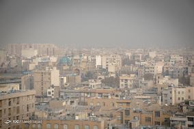 پایتخت غرق در دود