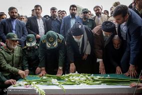 تشییع  سردار قدرت الله منصوری مشهد