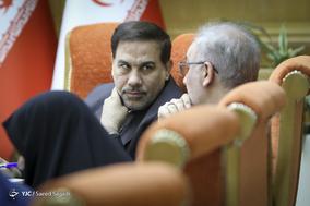 اصغر جهانگیر، رئیس سازمان زندانها در یکصد و دوازدهمین جلسه شورای اجتماعی کشور