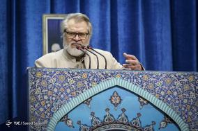سخنرانی نادر طالب زاده، فعال رسانه ای و دبیر جشنواره فیلم عمار در نماز جمعه تهران - ۲۱ دی ۱۳۹۷