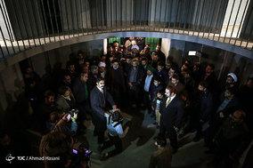 افتتاح بخش انقلاب اسلامی موزه زیارت در مشهد