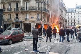 انفجار مهیب در پاریس