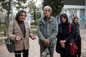 مراسم تشییع پیکر حسن حاجی نوری