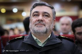سردار حسین اشتری، فرمانده کل ناجا در اختتامیه اولین جشنواره «شاهدان حقیقت»