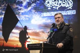 سخنرانی سردار حسین اشتری، فرمانده کل ناجا در اختتامیه اولین جشنواره «شاهدان حقیقت»