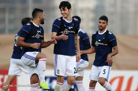 تمرین تیم ملی فوتبال در دبی